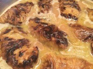 Kohlrouladen mit Spitzkohl - Fuellung