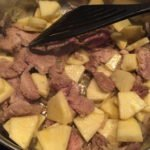 Currygeschnetzeltes mit Ananas