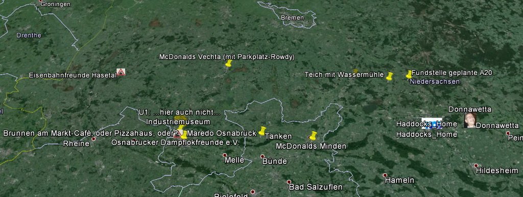 Karte WestTour