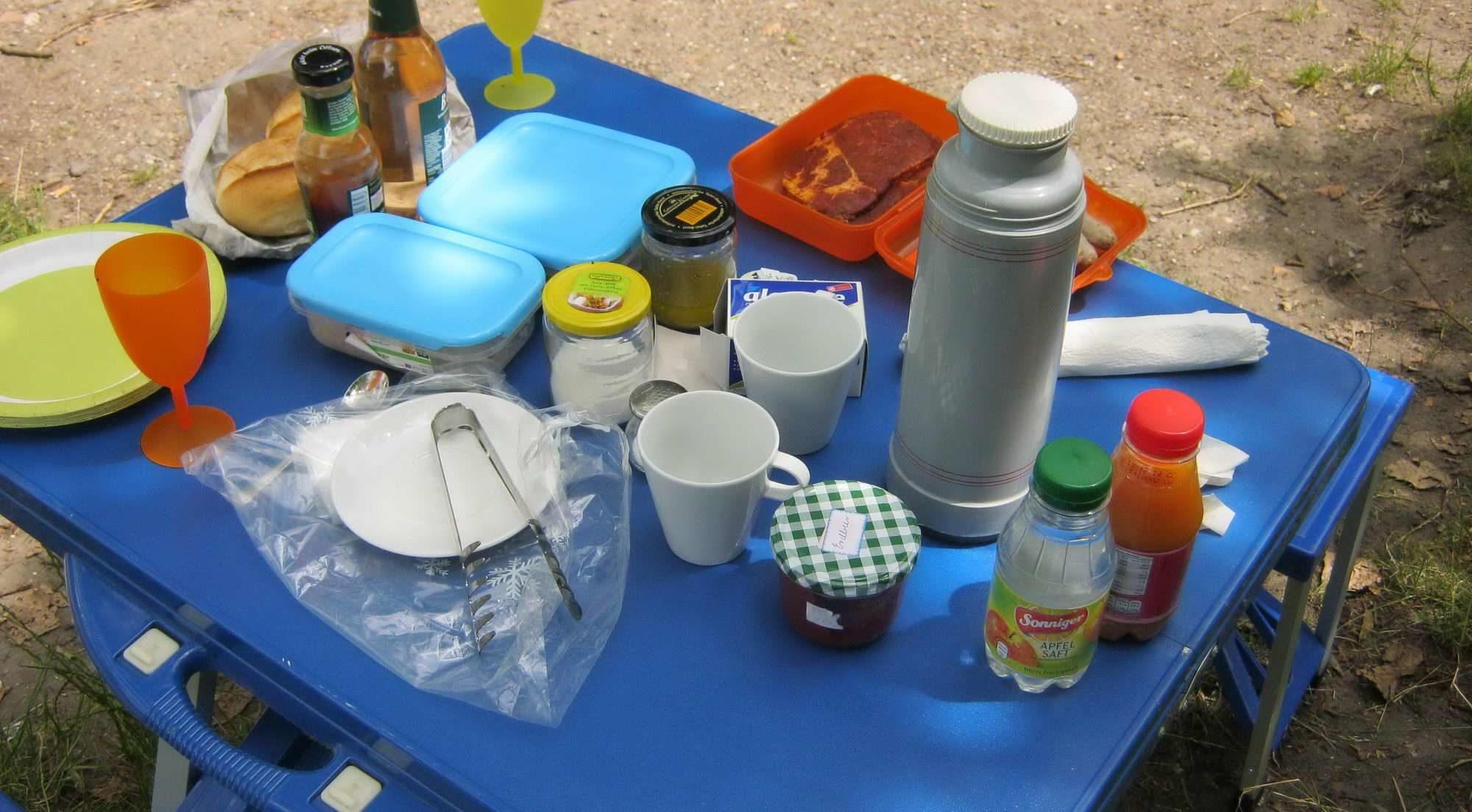 Picknick mit Frau Bode