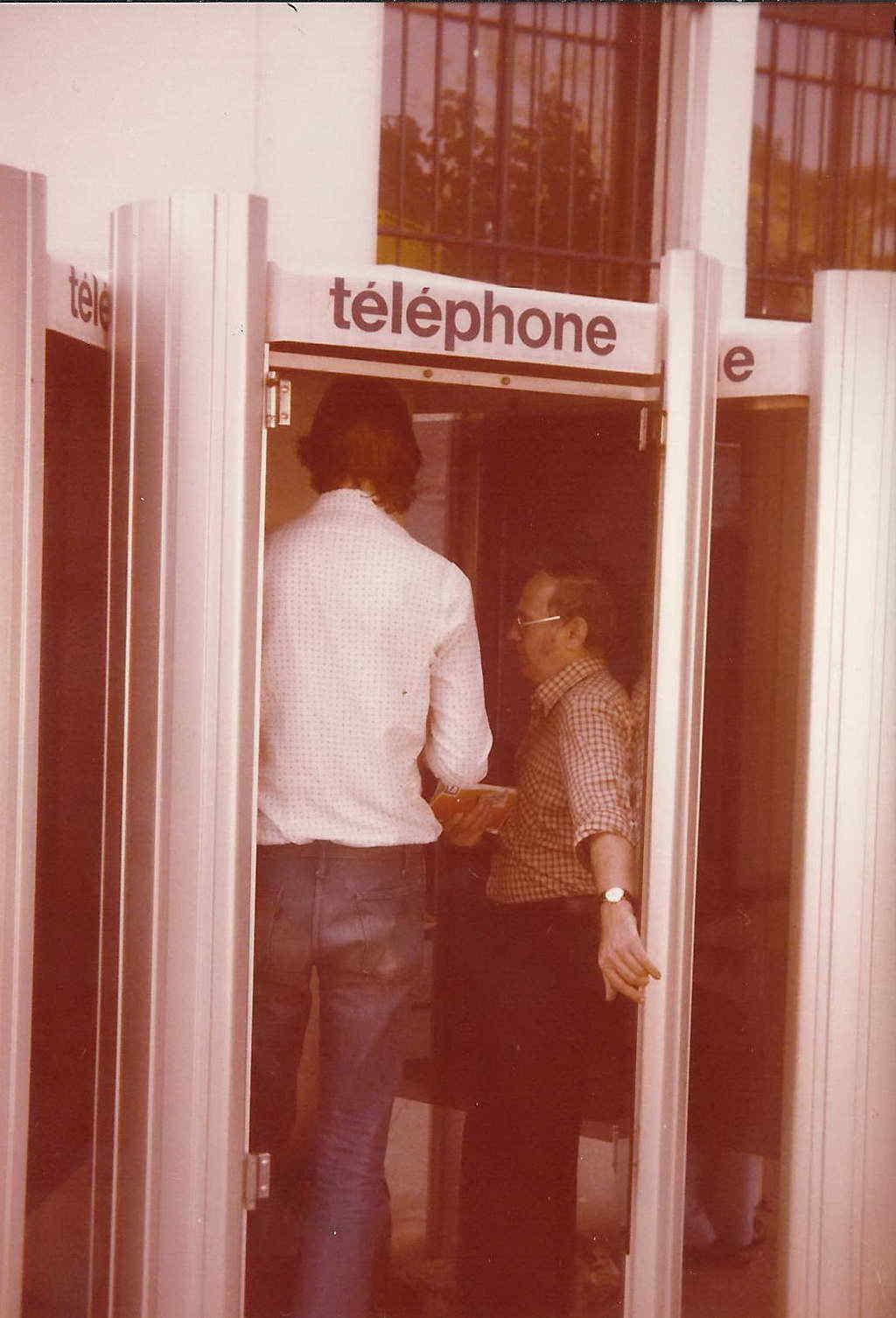 telefonieren nach Hause