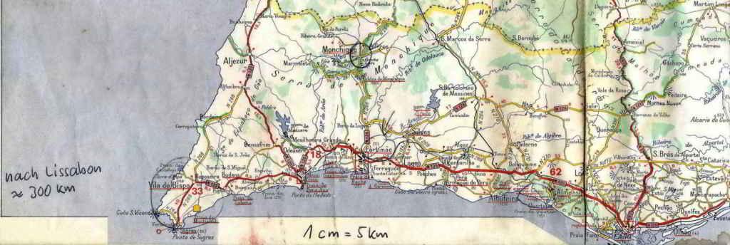 unsere Algarve-Karte