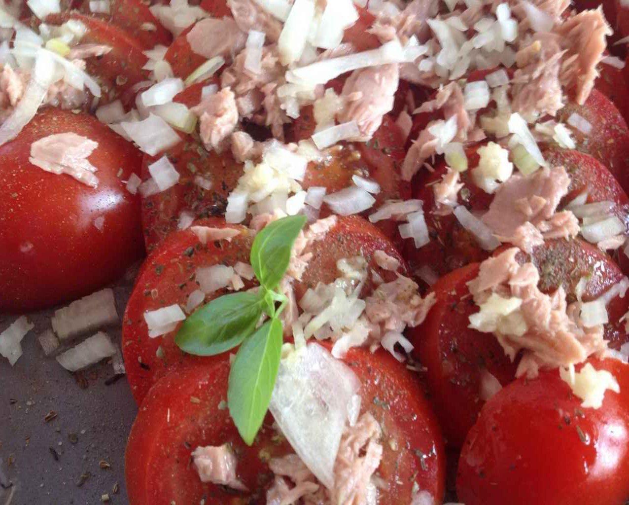 Kochgruppe - Thunfisch-Tomaten-Salat