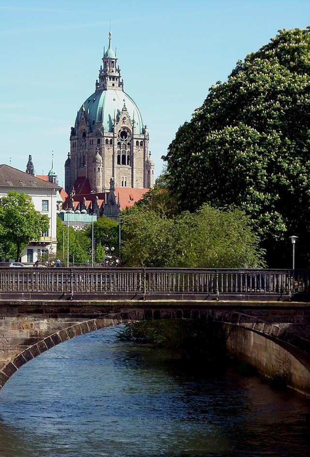 Rathaus Hannover Leinewasser