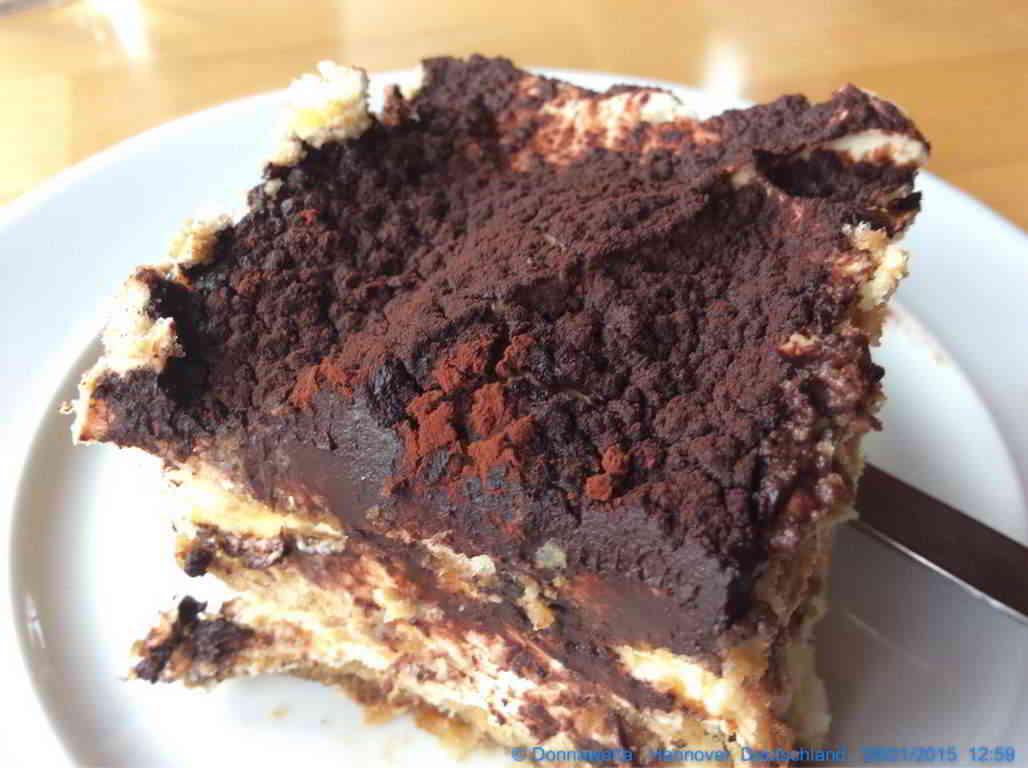 Tiramisu als Dessert