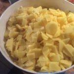 Vorbereitung Kartoffeln