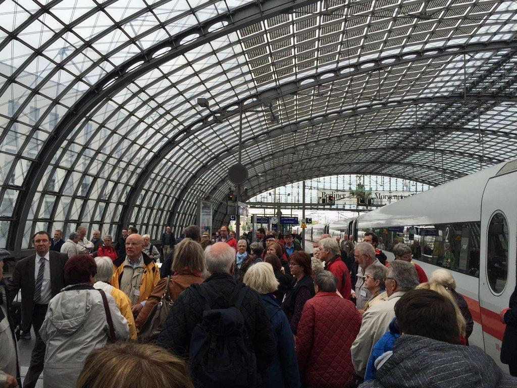 Berlin 2015 - Ankunft Berlin Bahnhof