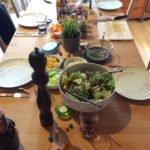 Cookasa Afterwork BBQ - gedeckter Tisch