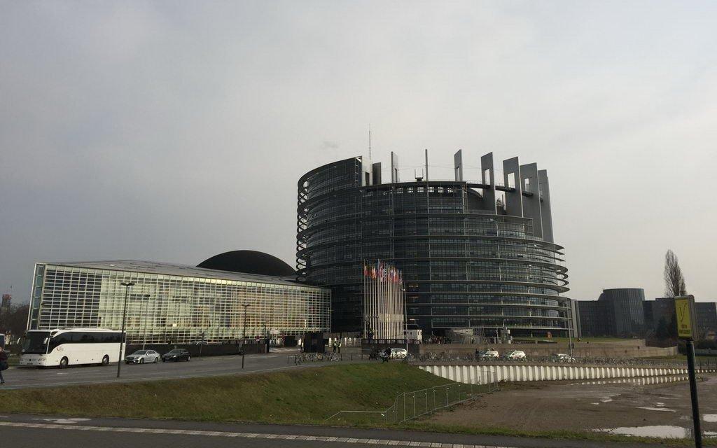 Besuch EU-Parlament Strassburg_2016-3 Parlament