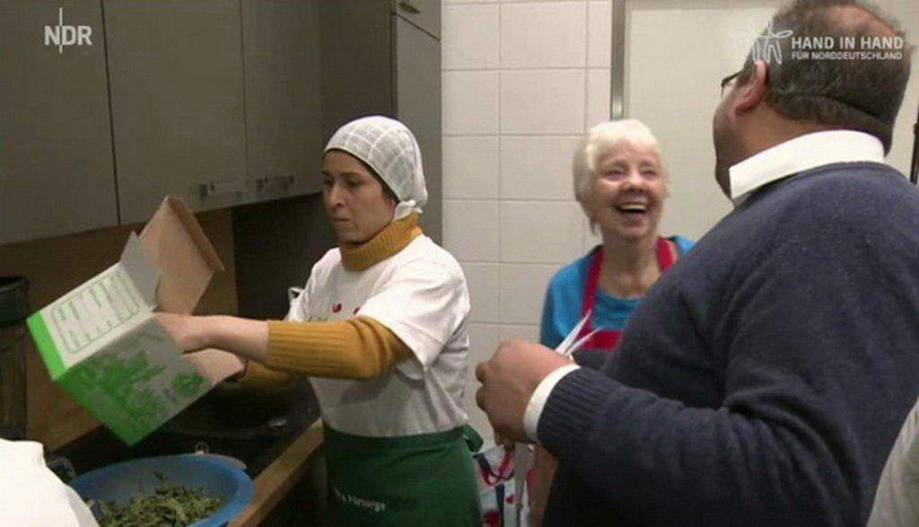 Kochen mit Flüchtlingen