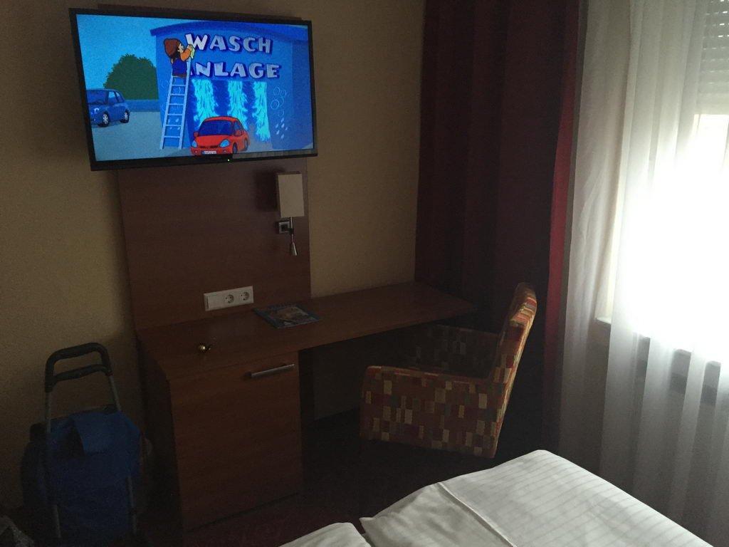 Besuch EU-Parlament Strassburg_2016-3 Hotelzimmer
