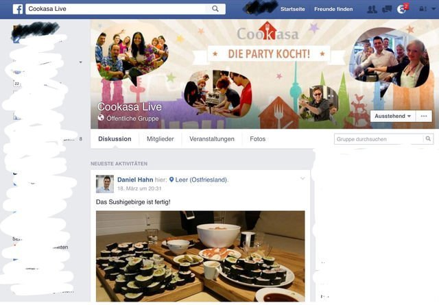 Cookasa live nicht mehr verfügbar-FB