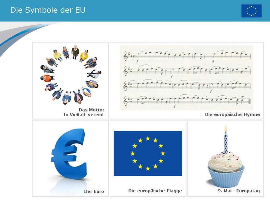 Europa-Symbole