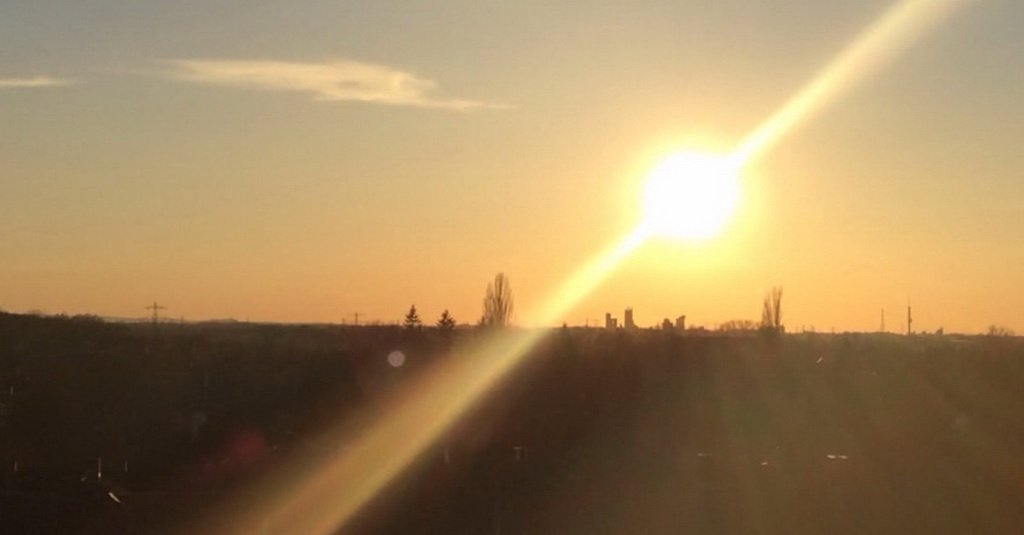 Sonnenuntergang Ostern 2015