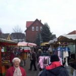 Wochenmarkt Lehrte - Markt noch gut voll