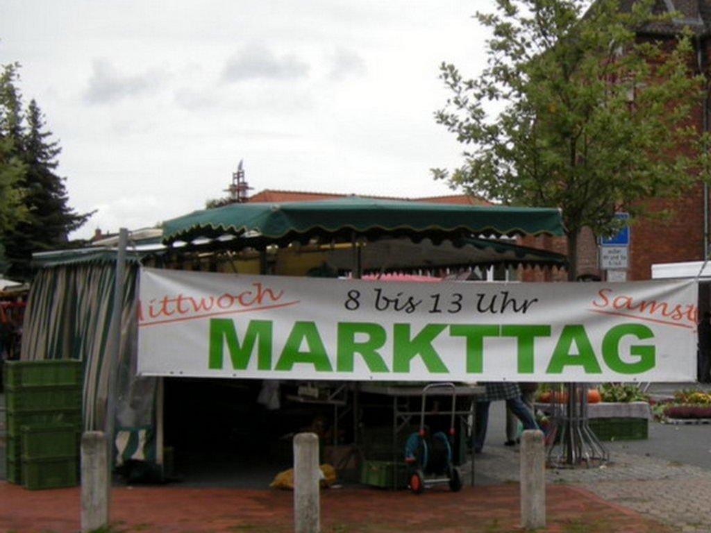an der Matthäuskirche Markt Lehrte