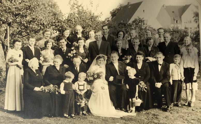 Hochzeit meines Onkels Walter mit Marlis