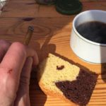 Kaffeepause mit Kuchen