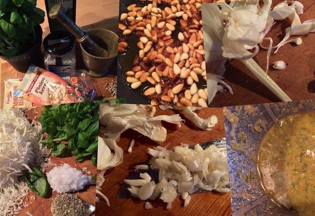 Pesto selbstgemacht - Zutaten
