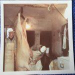 Schlachtetag - Fleisch bearbeiten