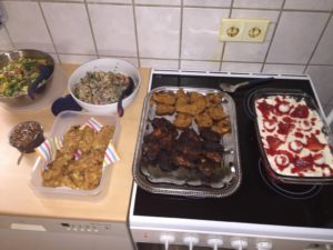 erstes Gruppentreffen Lehrter Kochkiste