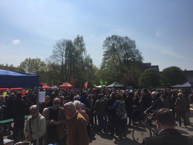 1. Mai Lehrte 2016, Rathausplatz