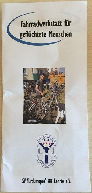 Flyer Fahrradwerkstatt Yurdumspor