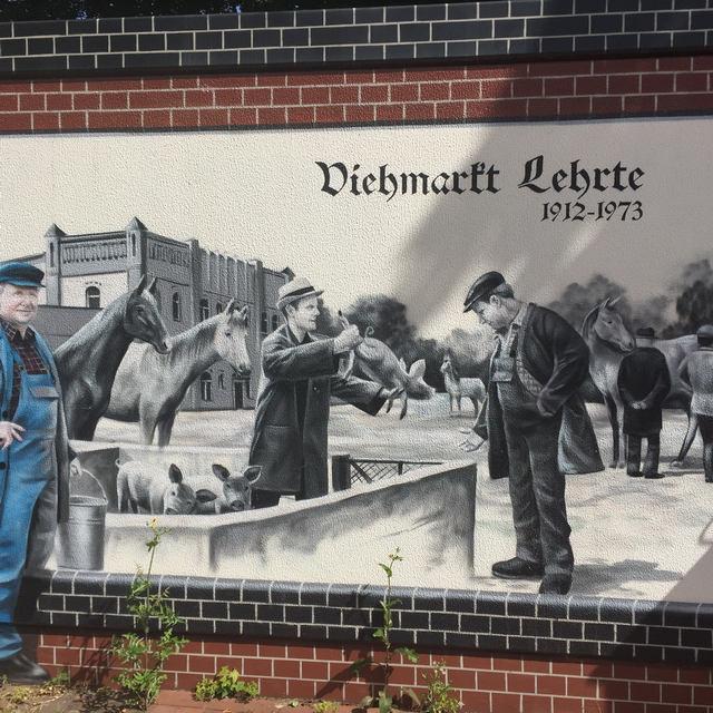 Wandmalerei in Lehrte