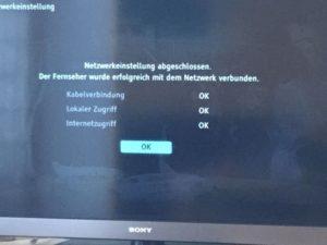 FritzBox Netzwerk mit TV