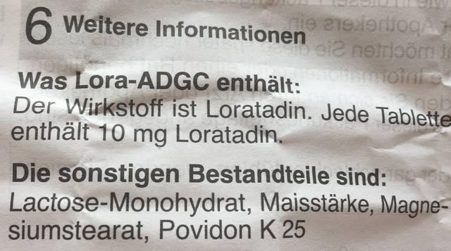 Beipackzettel Laktose-Monohydrat