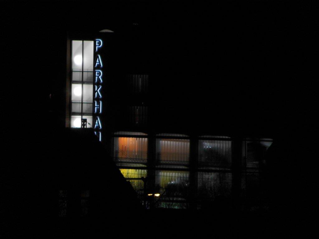 Nachtaufnahmen Lehrte, Parkhaus