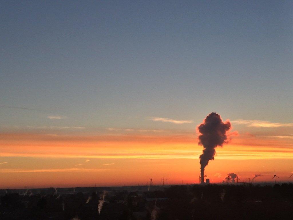 eisiger Morgen in Lehrte im Januar bei minus 10 Grad