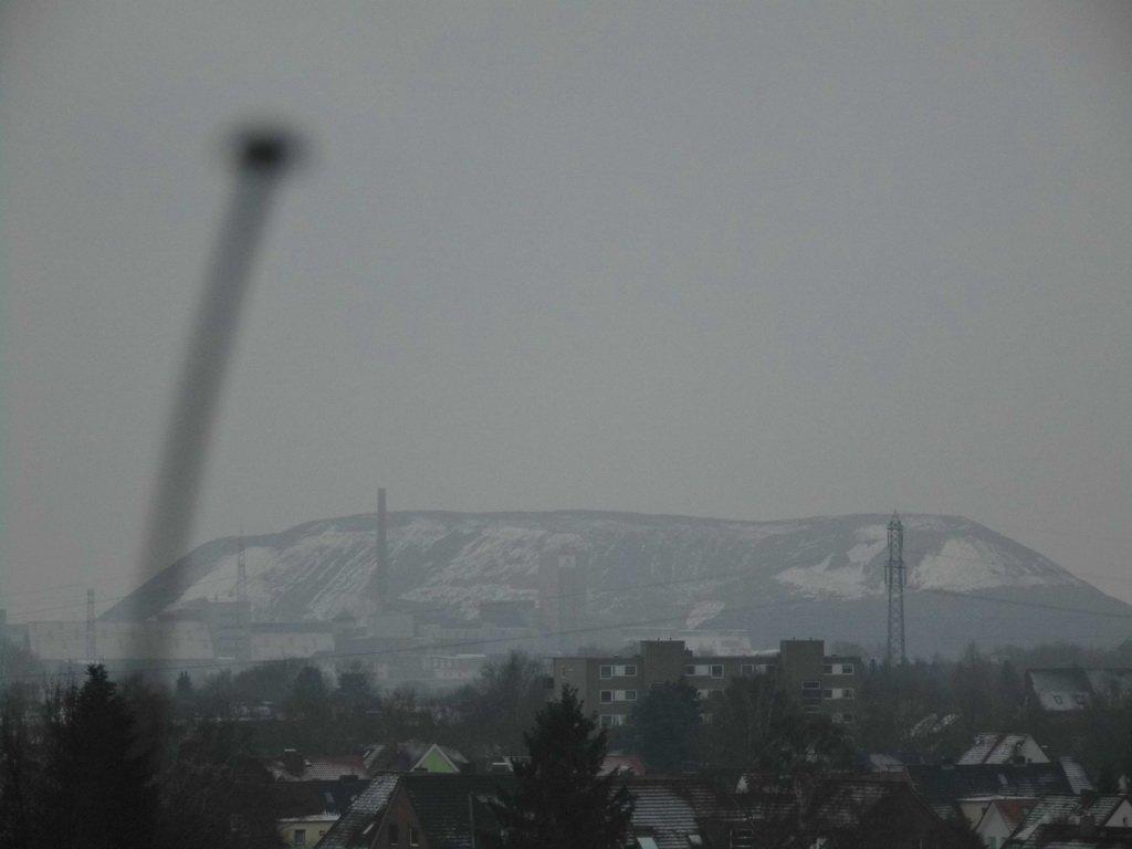 erster Schneefall im neuen Jahr 2017