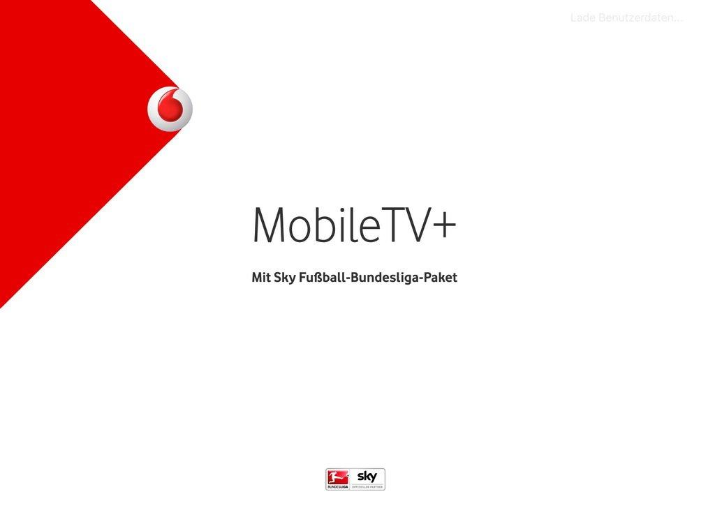 Vodafone TV-App