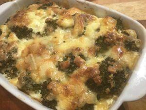 Broccoli-Kartoffel-Gratin