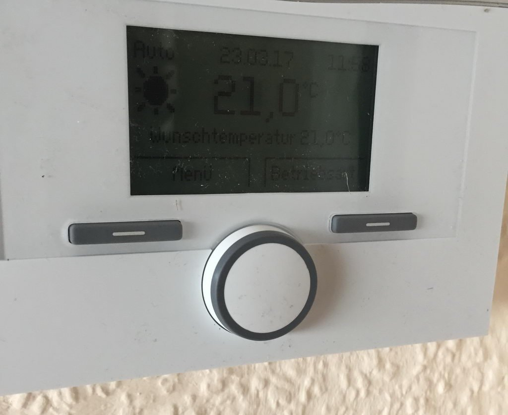 neuer Thermostat