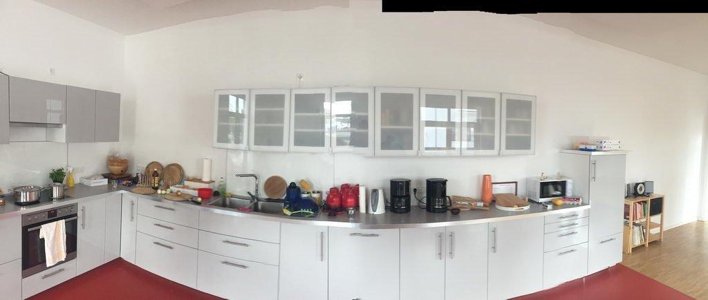 Neue Küche in neuen Räumen Kochgruppe Hannover