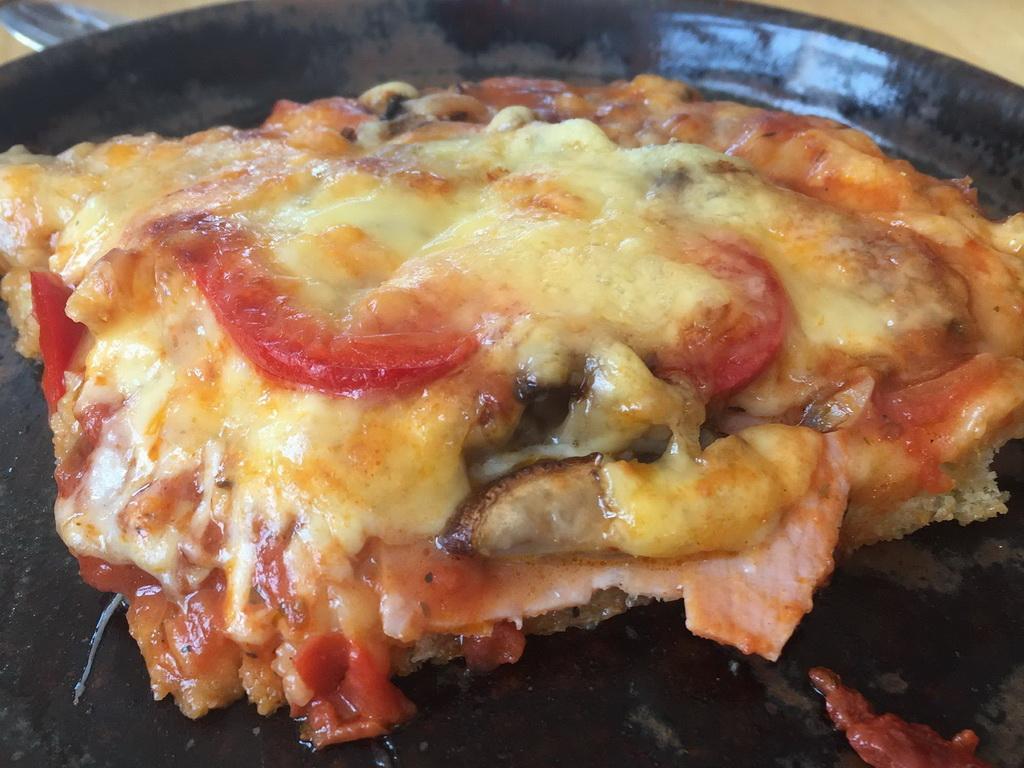 Pizza - Kochgruppe mit flauem Gefühl