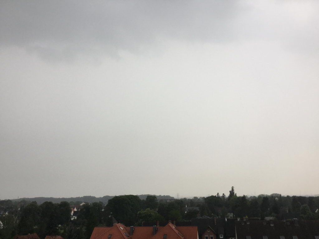 Kochgruppe bei Extremwetter in Hannover-Lehrte