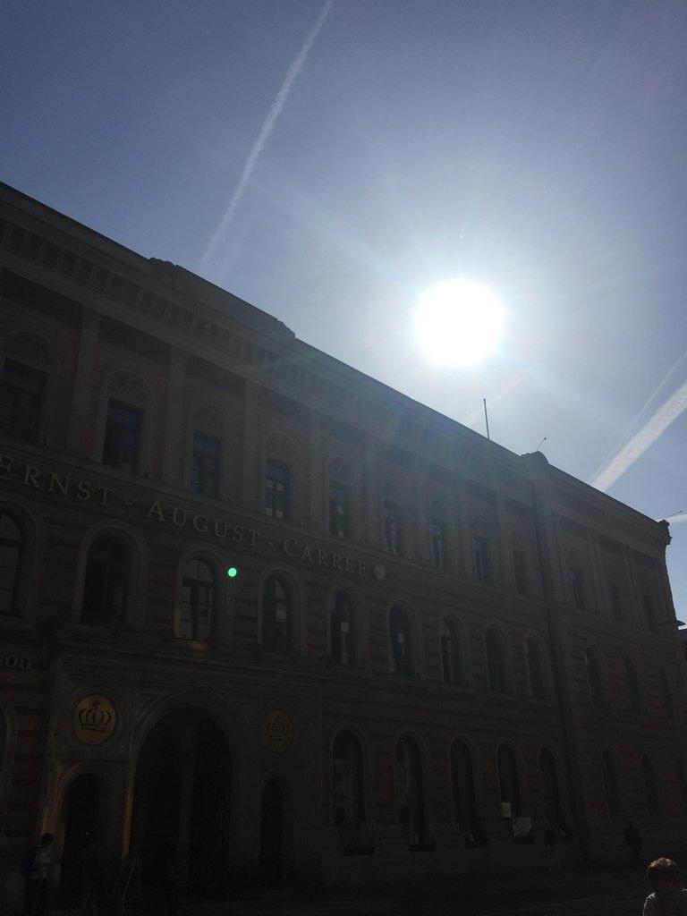 Kochgruppe mit Sommerhitze - Hannover - Ernst-August-Gallerie