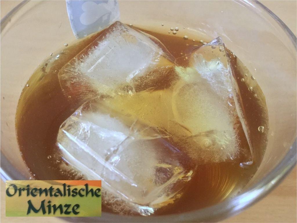 Orientalischer Minz-Eistee