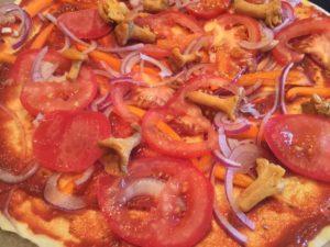 Pizza zubereiten