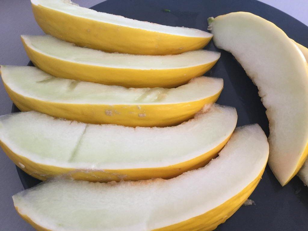 Melone - Kochgruppe bei tollem Sommerwetter mit angrillen