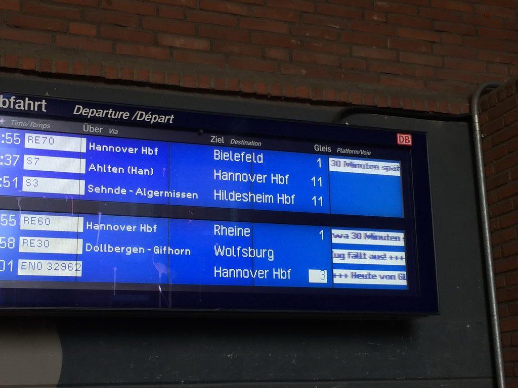 Ausflug zum phaeno in Wolfsburg mit Lehrte hilft - Zugausfall
