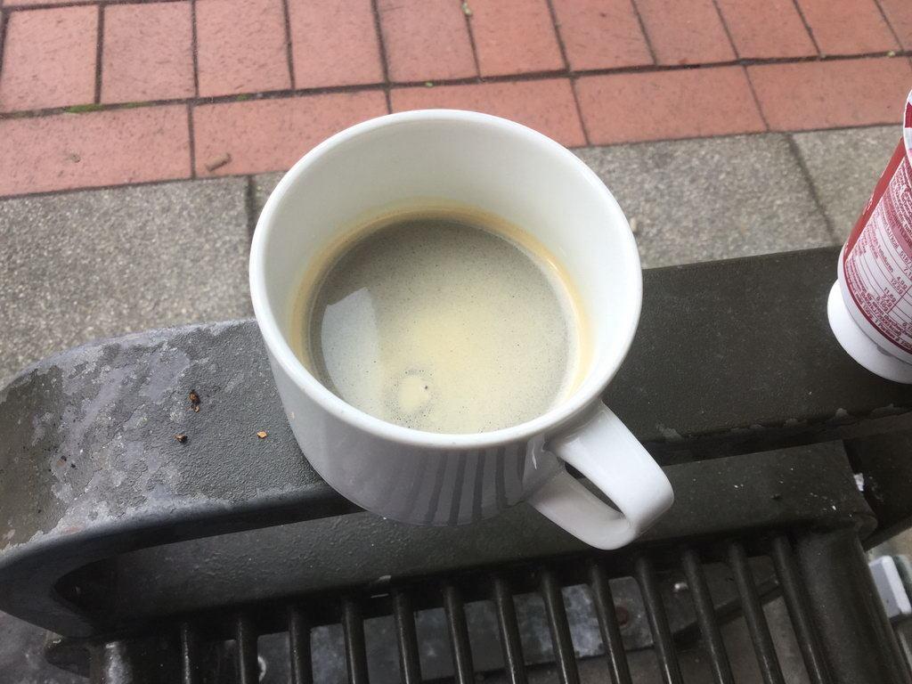 heißgeliebter Espresso nach Essen
