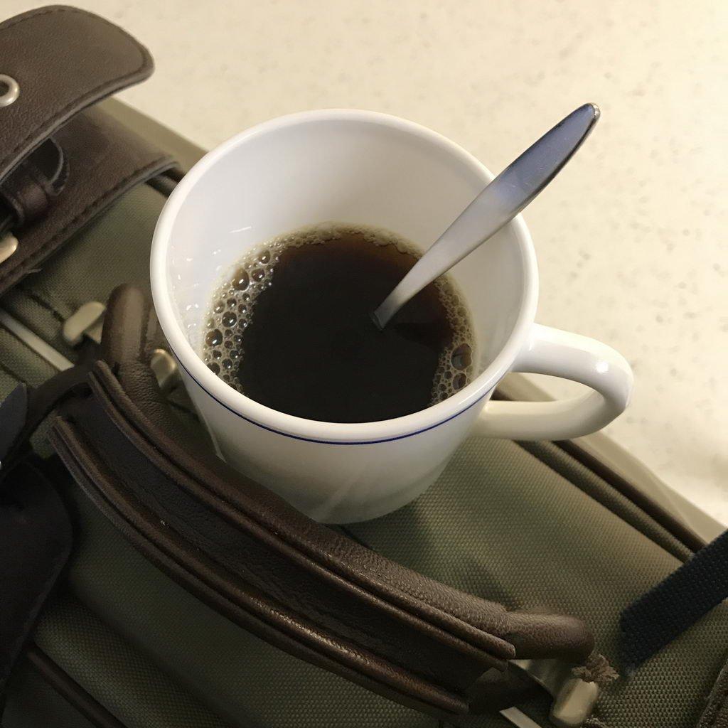 Aufnahme Kaffeepause eingelegt