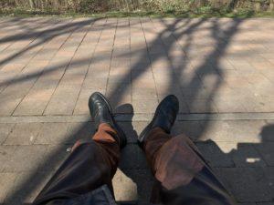 Spazieren gehen in Lehrte - Pause einlegen