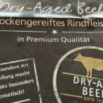 Dry-Aged Beef - Etikett