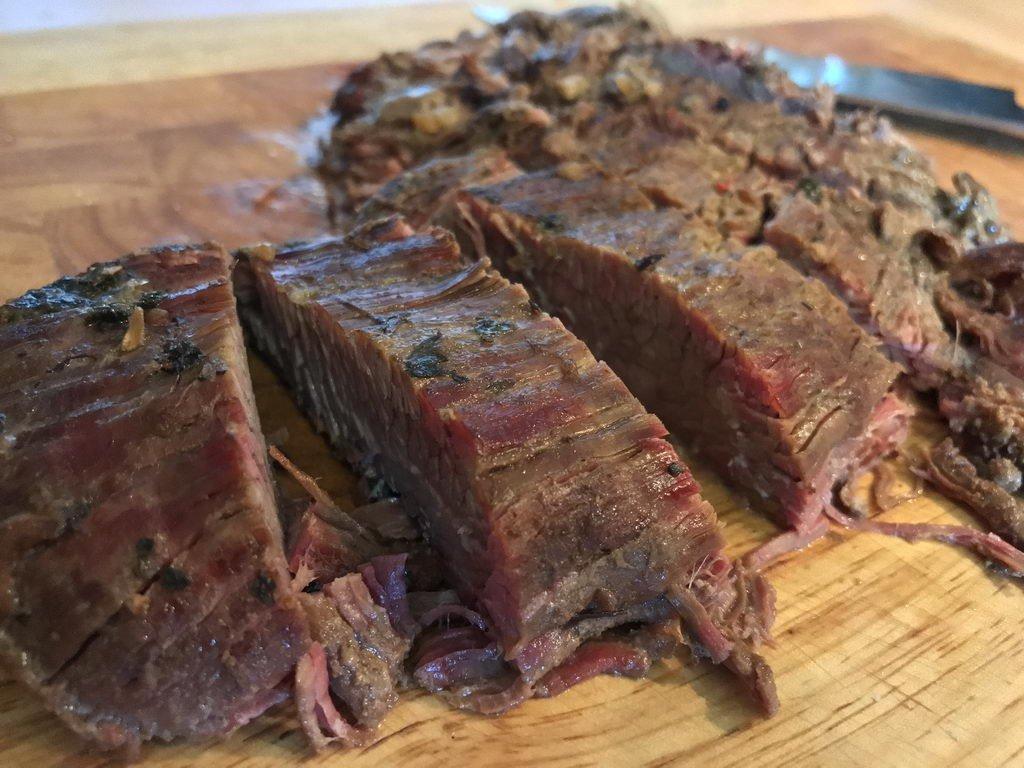 Dry-Aged Beef - aufgeschnitten