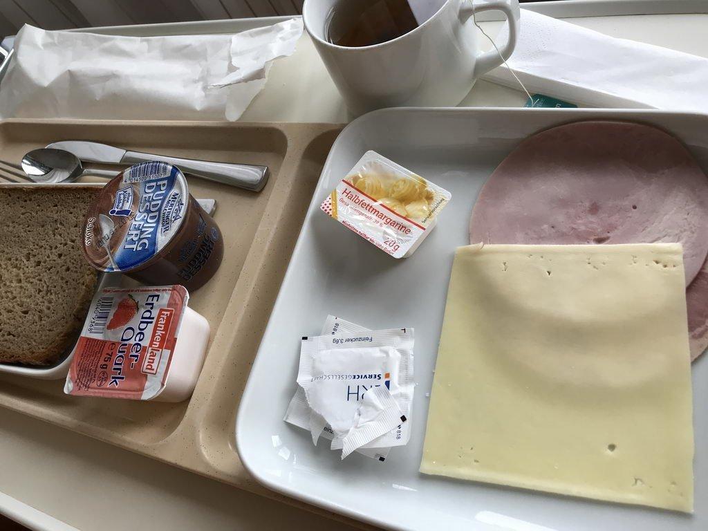 Mahlzeiten immer minimaler